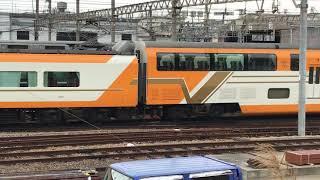◆6両編成 ビスタカーと8両編成 アーバンライナー プラス 近鉄 東花園電車区◆