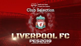 PES 2019 - Liverpool FC Club Selection/myClub Featured Players Trailer