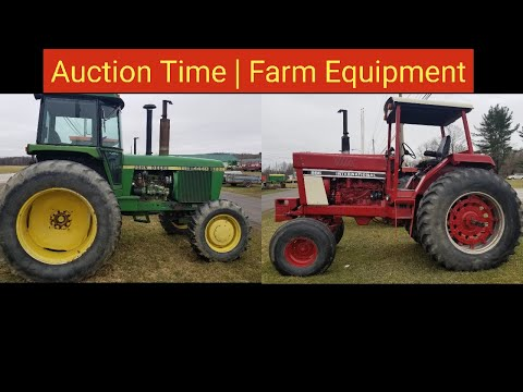 Auction Time | Farm Equipment