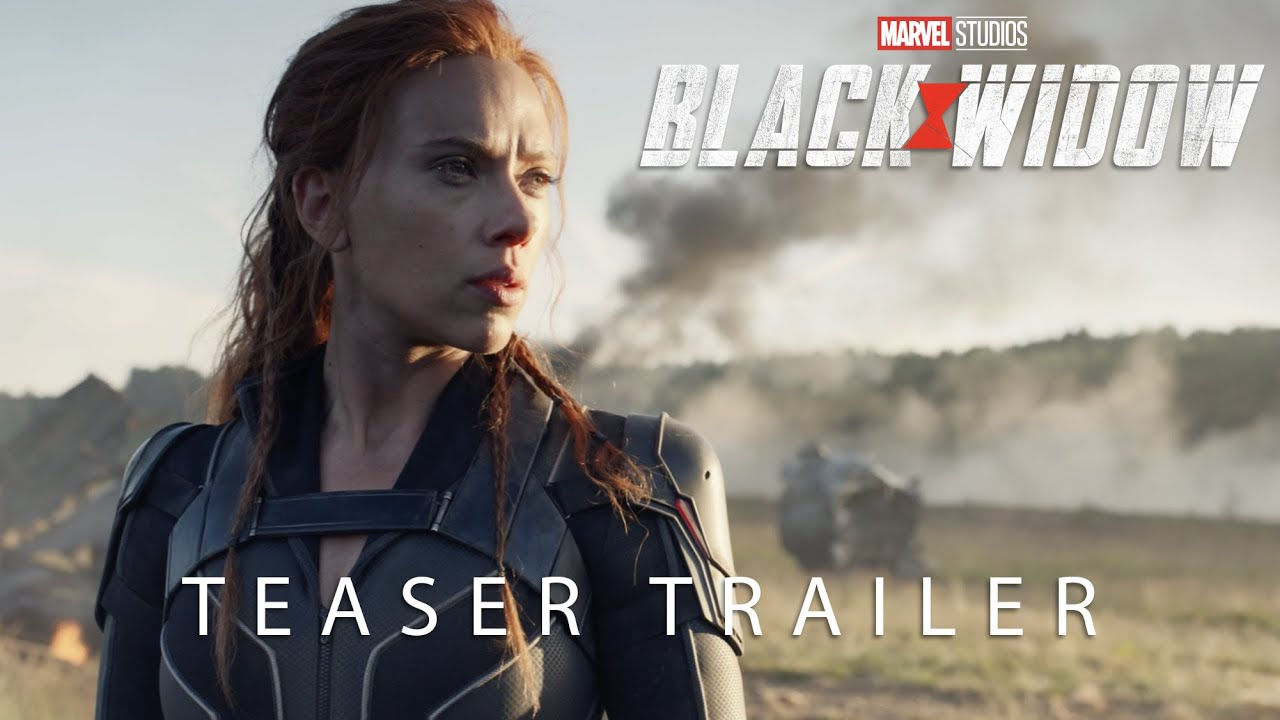 Marvel Studios Black Widow Official Teaser Trailer Youtube