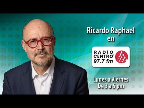 EN VIVO l RICARDO RAPHAEL en RADIO CENTRO 1/2 13/08/19
