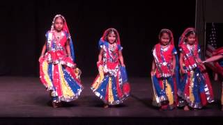 Holiya Mein Ude Re Gulal  - Dance performance by kids at DIFI 2014 (HD)