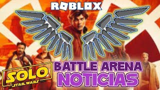 new information event Roblox Battle arena news in roblox in Spanish
