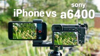 스마트폰으로 log촬영 하는 법 | a6400 비교 |…
