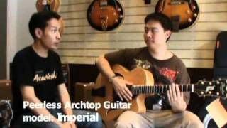 Peerless Archtop Guitar: Imperial By Acousticthai.Net