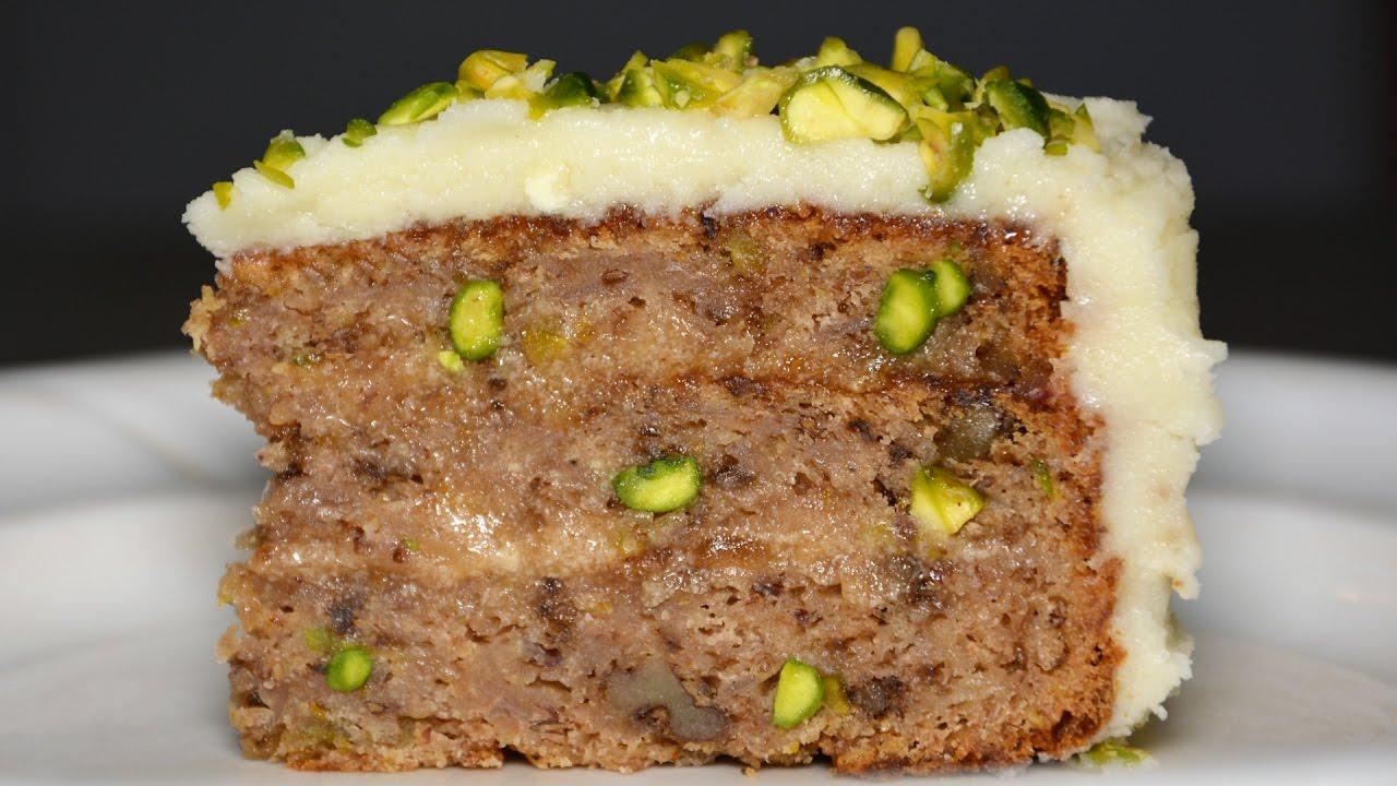 Carrot And Parsnip Vegan Cake