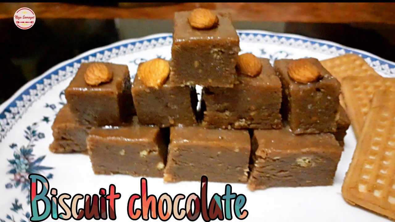 Home made biscuit chocolate recipe in tamil | quick and ...