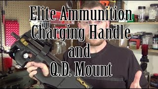 PS90 Elite Ammunition Charging handle and QD Sling Attachment