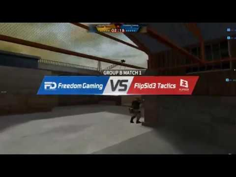 CFS2016 Freedom Gaming vs FlipSid3 Tactics B Group Day1 Map Port