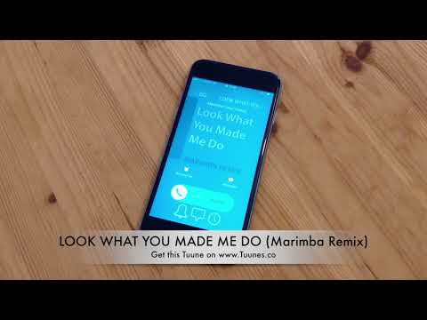 LOOK WHAT YOU MADE ME DO Ringtone (Taylor Swift Tribute Remix Ringtone) • For iPhone & Android