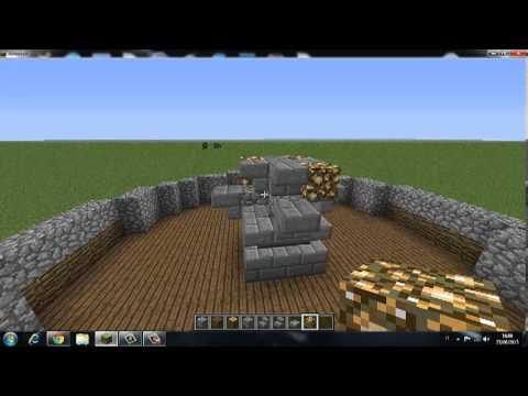 Come costruire una fontana grande in minecraft - YouTube