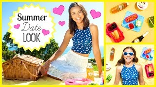 My Summer Date Look + Picnic Ideas!