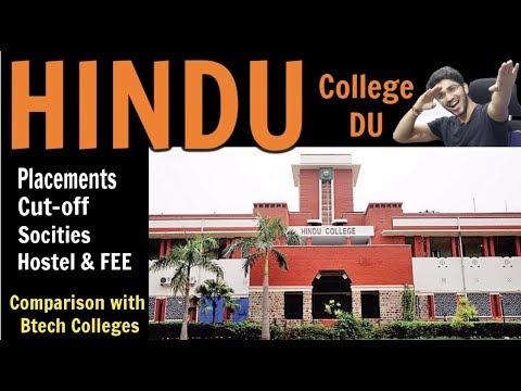 Hindu College Delhi University, Review - Placements, Hostel, Societies, Fests , Cut-off