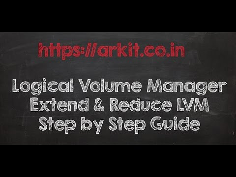 Logical Volume Manager - LVM - Linux Step by Step Guide