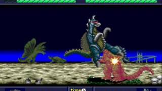 PC Engine Gaming: Godzilla