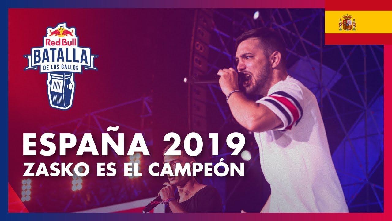 Final Nacional España 2019 Red Bull Batalla De Los Gallos Youtube