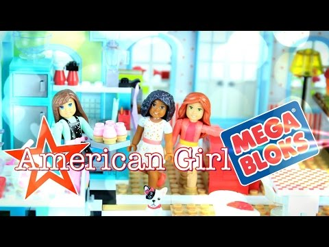 American Girl Mega Bloks - Toy Review And Stop Motion