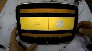 видео Телевизор в подголовник ВАЗ 2110