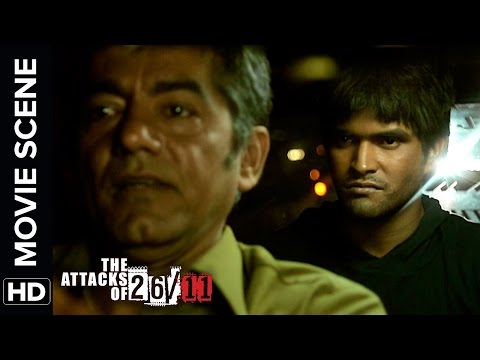 Kasab plants a bomb in a taxi | The Attacks Of 26/11 | Nana Patekar | Movie Scene
