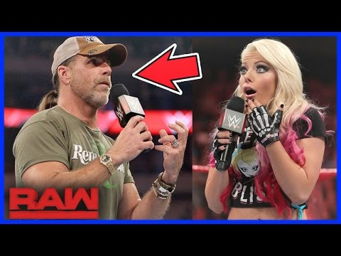 SHAWN MICHAELS TALKS ABOUT RETURNING TO...
