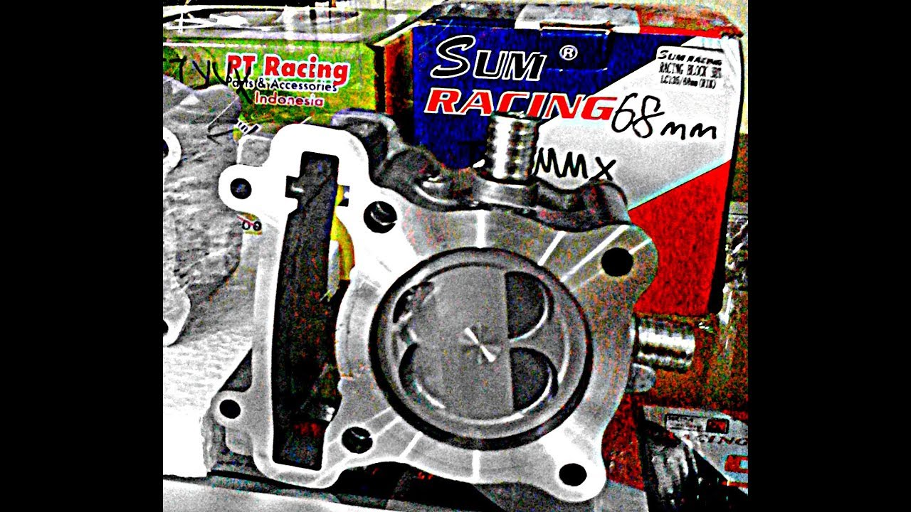 BLOK LC135 68mm & TIPS PENJAGAAN - SUM RACING