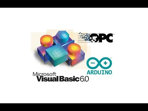 Arduino OPC Server With VB6 + Kepserver Client 1/2