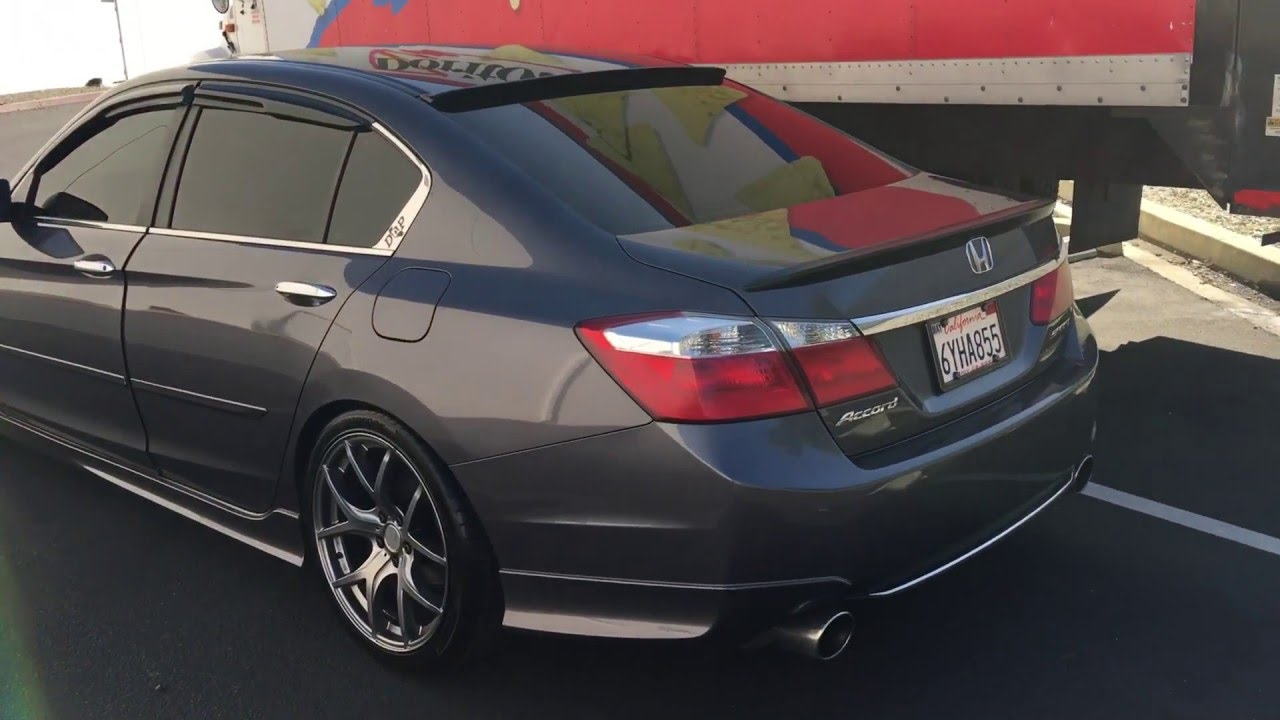 9th Gen Accord Sedan Hood Visor Add On Youtube