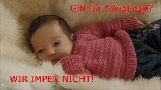"""Brauchen Säuglinge 34 Impfungen im ersten Lebensjahr? (""""Children of Tomorrow"""")"""