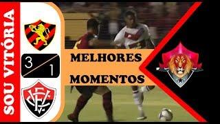 Assistir Melhores Momentos Sport 3 x 1 Vitória Brasileirão série B