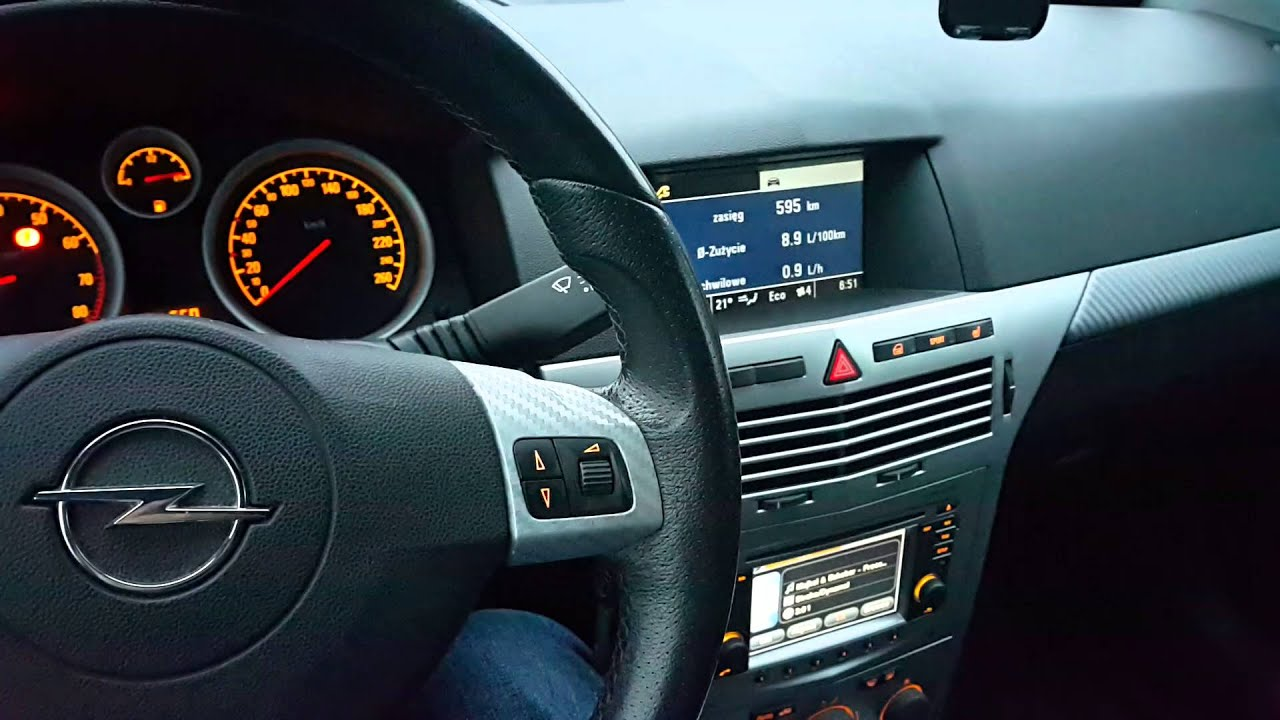 Astra H With Touch Amp Connect And Cid Display Youtube