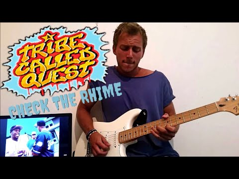 Hiphop guitar jam - ATCQ - Check the Rhime