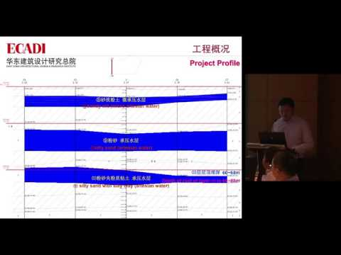 """CTBUH 2014 Shanghai Conference - Qiping Weng, """"Foundation Support and Environment Protection"""""""