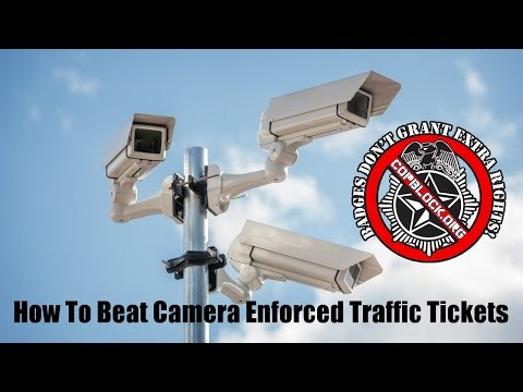 How To Beat Camera Enforced Traffic Tickets