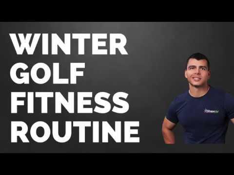 Winter Golf Fitness Routine