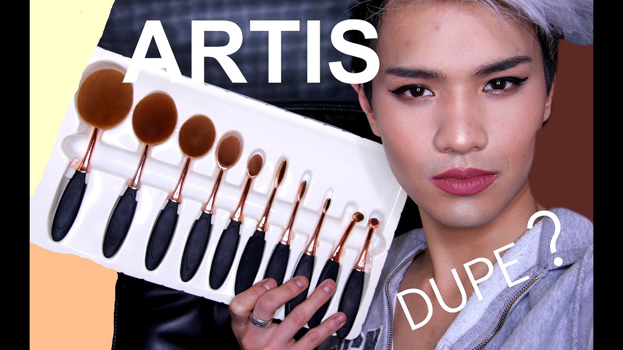 Artis brushes 45 dupe demo youtube for Brush craft vs artis