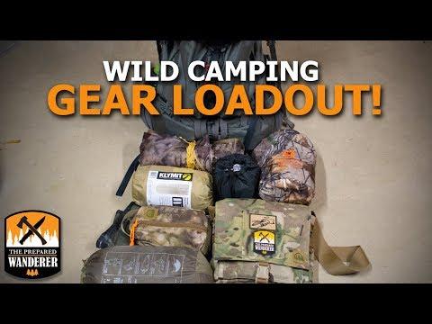 Wild Camping Gear Loadout