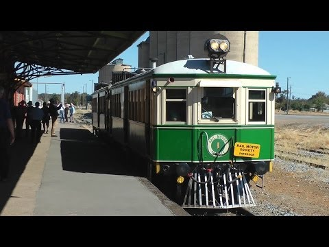 Tin Hares to Griffith via Temora: Australian Trains