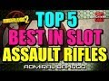 Download Borderlands 2 Top 5 Best in Slot: Assault Rifles! Highest damaging items in the game! MP3 song and Music Video
