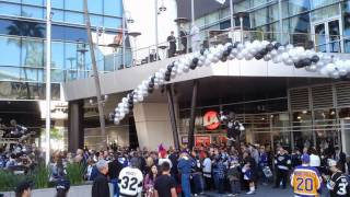 Los Angeles Kings Pre Game Activity Outside Staples Center - January 2013 - Los Angeles