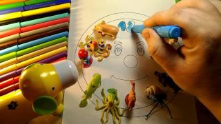 Play and PAINT coloring for kids 18 min VIDEO Learn the numbers Watch
