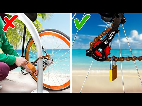 30+ BICYCLE HACKS to turn your invention with two wheels into smart iron horse thumbnail