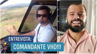 ENTREVISTA COM O VHD SOBRE HELICÓPTEROS, VIAGENS E CARROS!!!