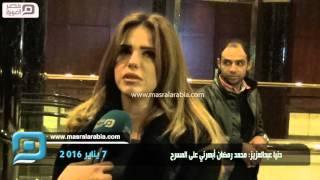 بالفيديو.. دنيا عبد العزيز تقدم الأسطورة مع  محمد رمضان