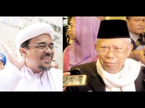Tanggapan Kiai Ma'ruf Amin soal Rizieq Shihab Sebut Jokowi Terlalu Fokus Pencitraan Mp3