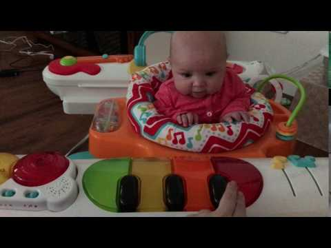 Fisher-Price 4-in-1 Step 'n Play Piano demo (keys)