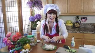 #28 Enchanting Salmon Salad. Studioolga. La Na Cooking Show