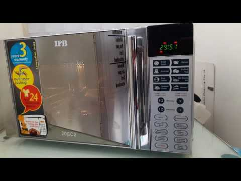HOW TO USE IFB 20SC2 microwave oven with convection  full demo  & function
