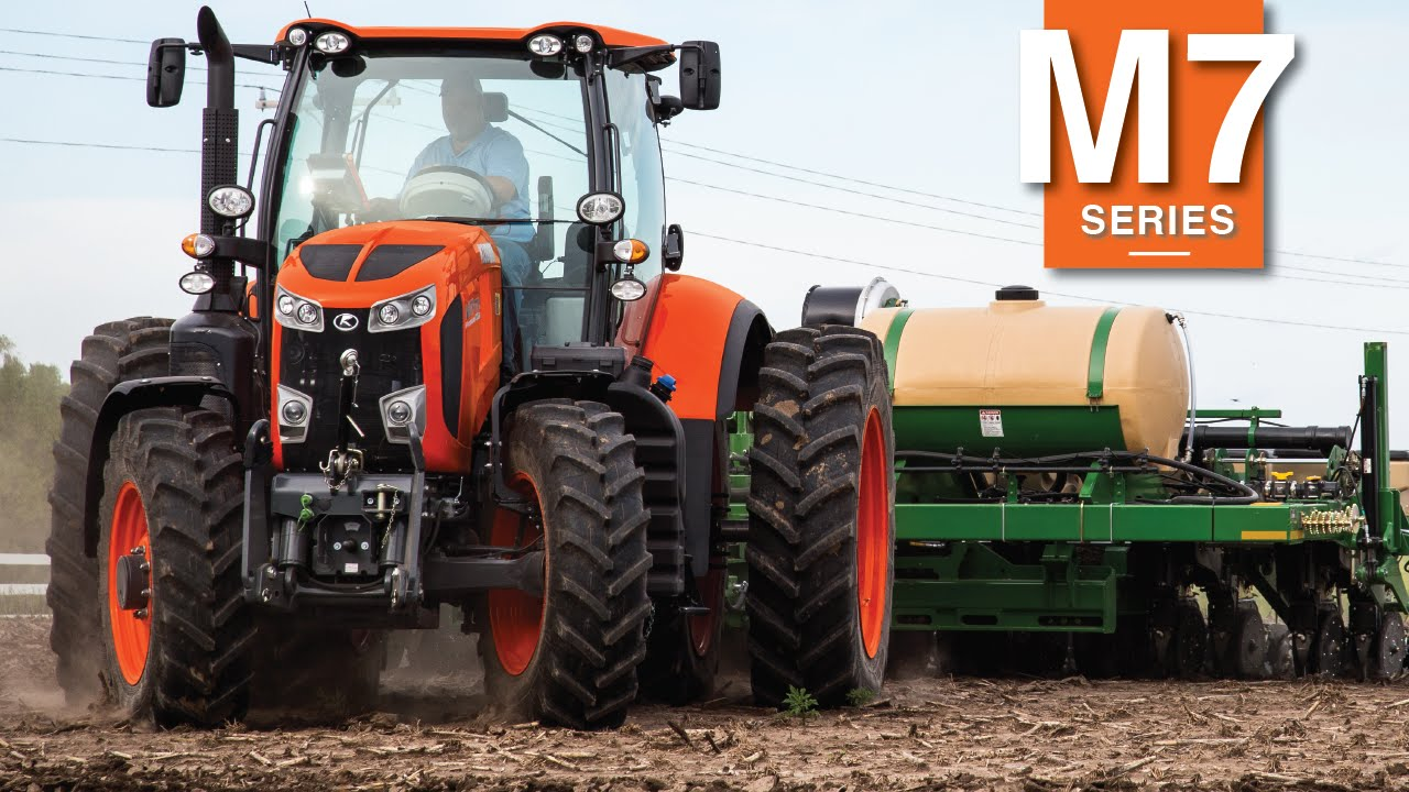Large Kubota Tractors : M tractor introduction youtube