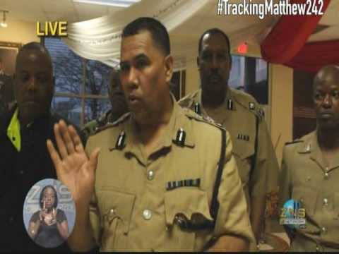 POLICE CHIEF ON HURRICANE MATTHEW