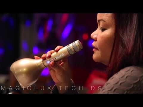 MagicLUX TECH D9 Portable Karaoke Microphone.